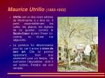 maurice utrillo 1883 1955