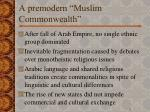 a premodern muslim commonwealth