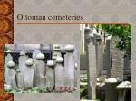 ottoman cemeteries