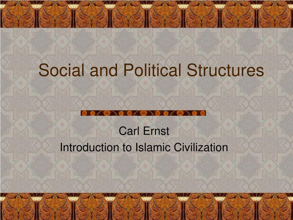 social and political structures l.