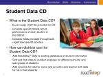student data cd