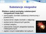 substancje niezgodne1