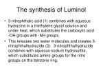 the synthesis of luminol1