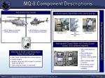 mq 8 component descriptions