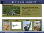 shore based tactical uas