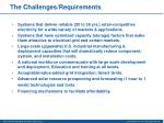 the challenges requirements