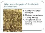 what were the goals of the catholic reformation