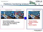 hat kony monitoring rendszer