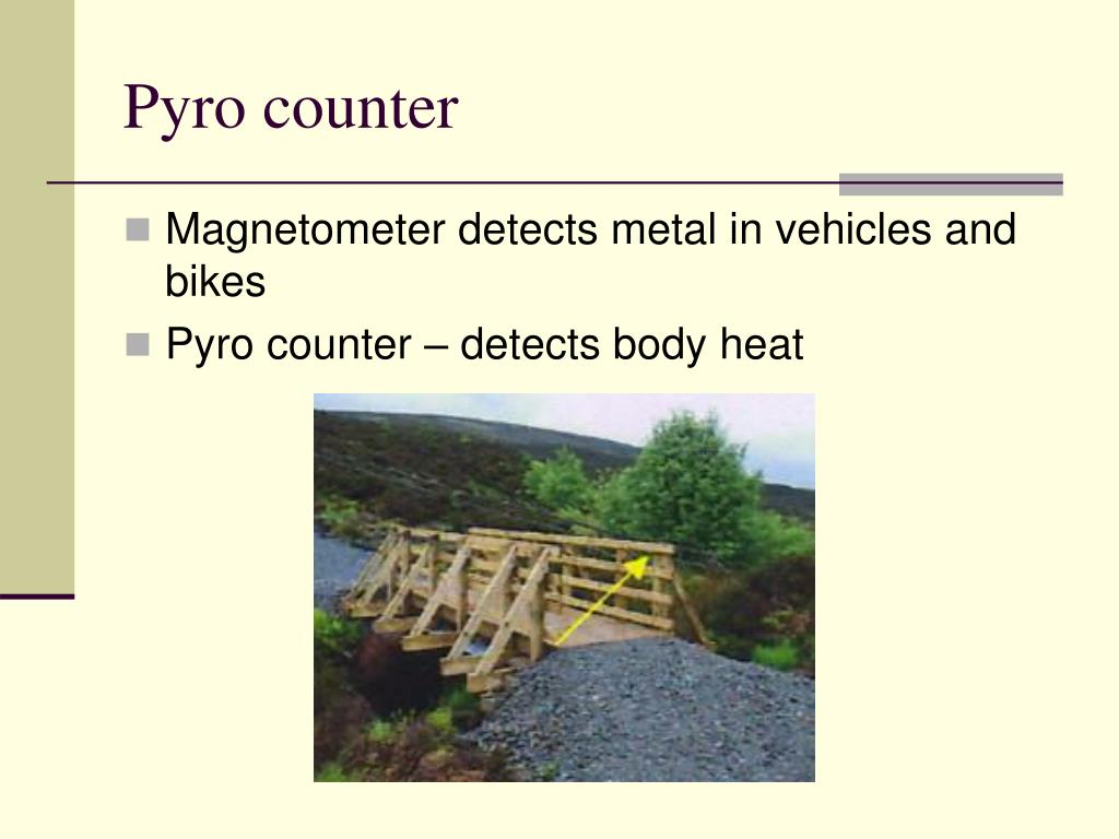 Pyro counter