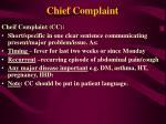 chief complaint2