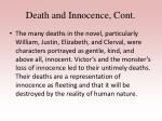 death and innocence cont