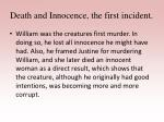 death and innocence the first incident