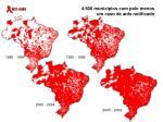 4 900 munic pios com pelo menos um caso de aids notificado