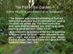 the fall in the garden scene 1b eve and adam fall to temptation