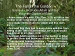 the fall in the garden scene 4 god kicks adam and eve out of the garden of eden