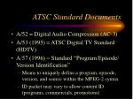 atsc standard documents