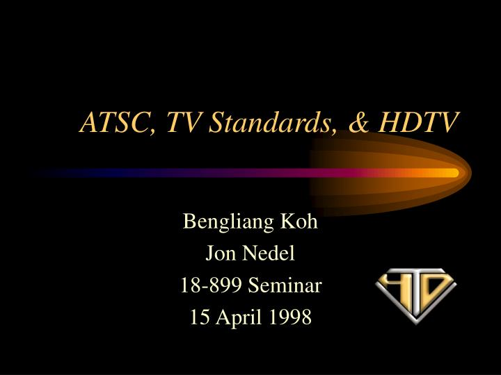 atsc tv standards hdtv n.