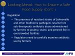 looking ahead how to ensure a safe food supply cont2