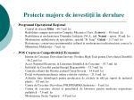 proiecte majore de investi ii n derulare1