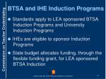 btsa and ihe induction programs1