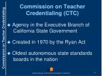 commission on teacher credentialing ctc