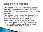 teachers are needed1