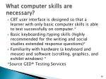 what computer skills are necessary