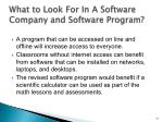 what to look for in a software company and software program5