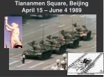 tiananmen square beijing april 15 june 4 1989