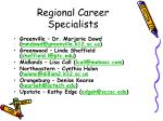 regional career specialists