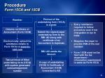 procedure form 15ca and 15cb