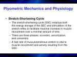 plyometric mechanics and physiology2