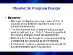 plyometric program design5