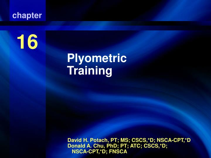 plyometric training n.
