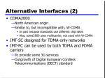 alternative interfaces 2