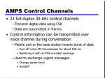 amps control channels