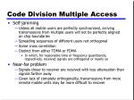 code division multiple access1