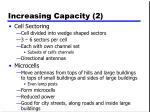 increasing capacity 2