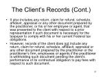 the client s records cont2
