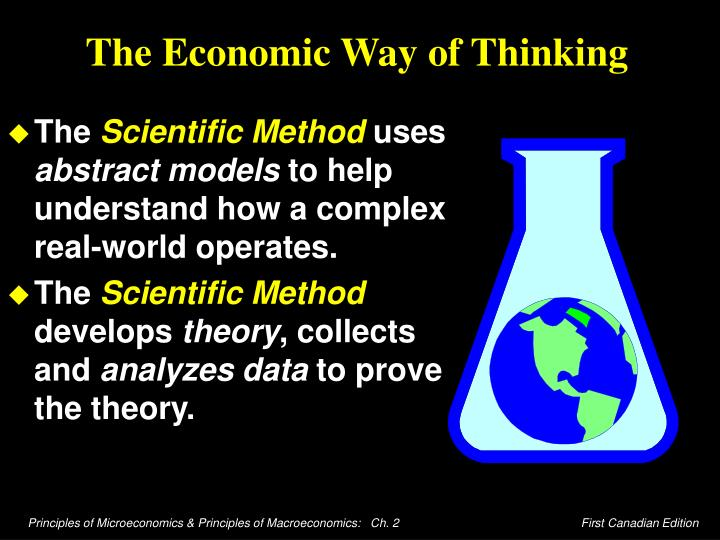 the economic way of thinking n.