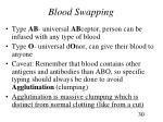 blood swapping
