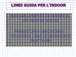 linee guida per l indoor