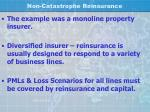 non catastrophe reinsurance