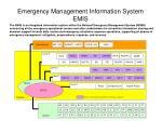 emergency management information system emis1