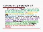 conclusion paragraph 5