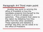 paragraph 4 third main point