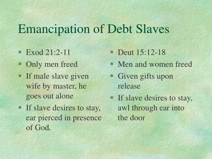 Exod 21:2-11