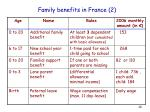family benefits in france 2