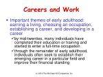 careers and work