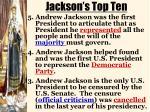 jackson s top ten1